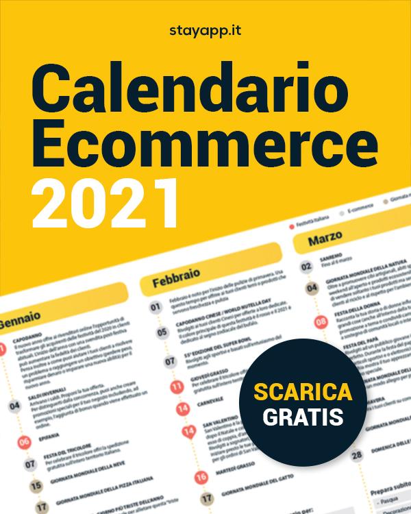 Calendario ecommerce 2021 - Stayapp